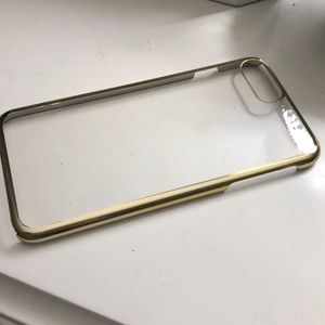 Gold Trim iPhone 7 Plus / 8 Plus Phone Case